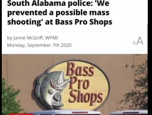 Botched a mass shooting of white people